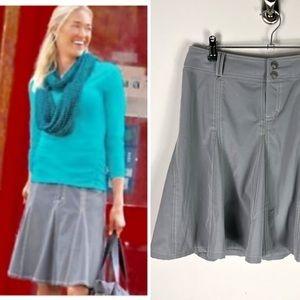 Athleta Whatever Skort Short Skirts Gray Hiking 8P